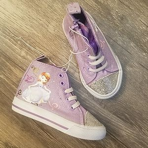 Sophia the first sparkle high top shoes toddler